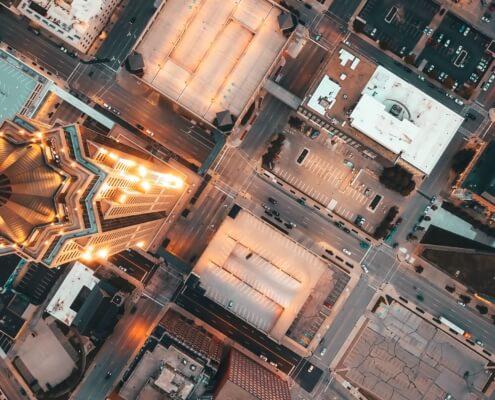 Smart City Hintergrundbild